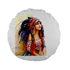 Indian 22 Standard 15  Premium Round Cushions by indianwarrior