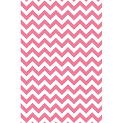 Pink And White Zigzag 5 5  X 8 5  Notebooks by Zandiepants