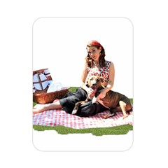 Pittie Picnic 2011 Double Sided Flano Blanket (mini)