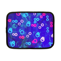 Bubbles On An Abstract Background Netbook Sleeve (small) by sirhowardlee