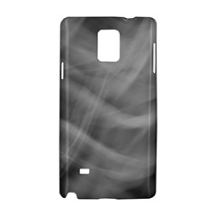 Gray Fog Samsung Galaxy Note 4 Hardshell Case by timelessartoncanvas