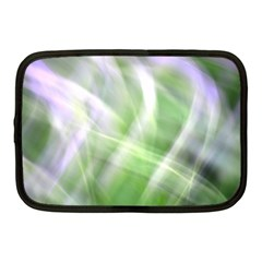 Green And Purple Fog Netbook Case (medium)  by timelessartoncanvas