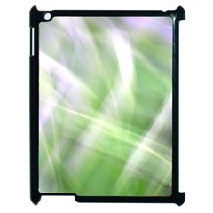 Green And Purple Fog Apple Ipad 2 Case (black) by timelessartoncanvas