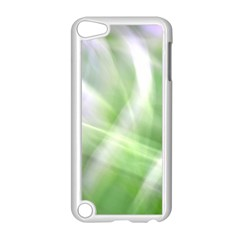 Green And Purple Fog Apple Ipod Touch 5 Case (white) by timelessartoncanvas