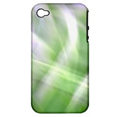 Green And Purple Fog Apple Iphone 4/4s Hardshell Case (pc+silicone) by timelessartoncanvas