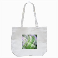 Green And Purple Fog Tote Bag (white) by timelessartoncanvas