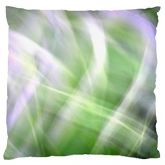 Green And Purple Fog Large Flano Cushion Case (two Sides)