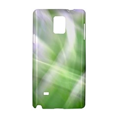 Green And Purple Fog Samsung Galaxy Note 4 Hardshell Case by timelessartoncanvas