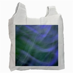 Purple Fog Recycle Bag (two Side)  by timelessartoncanvas