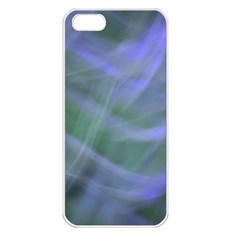 Purple Fog Apple Iphone 5 Seamless Case (white) by timelessartoncanvas