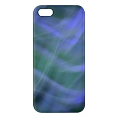 Purple Fog Iphone 5s/ Se Premium Hardshell Case by timelessartoncanvas