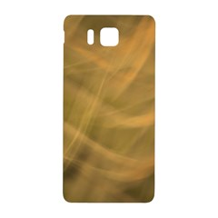 Brown Fog Samsung Galaxy Alpha Hardshell Back Case by timelessartoncanvas