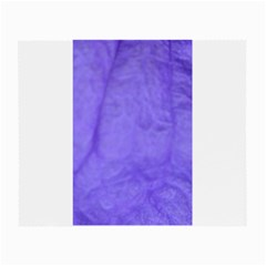 Purple Modern Leaf Small Glasses Cloth (2 Side) by timelessartoncanvas