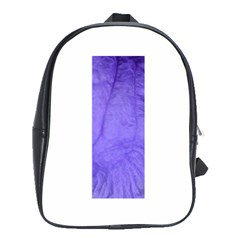 Purple Modern Leaf School Bags (xl)  by timelessartoncanvas