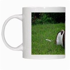 Pit Bull T Bone White Mugs by ButThePitBull