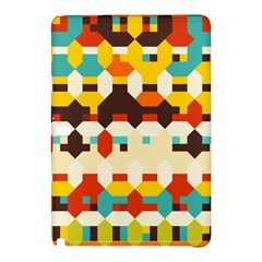 Shapes In Retro Colors 			samsung Galaxy Tab Pro 10 1 Hardshell Case by LalyLauraFLM