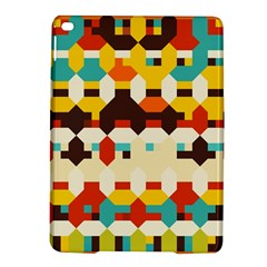 Shapes In Retro Colors 			apple Ipad Air 2 Hardshell Case