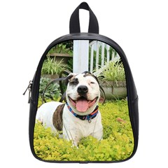Pit Bull T Bone School Bags (small)  by ButThePitBull