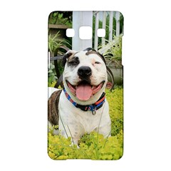 Pit Bull T Bone Samsung Galaxy A5 Hardshell Case  by ButThePitBull