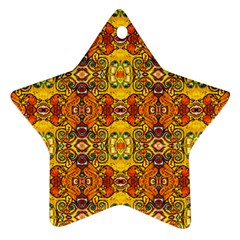 Roof555 Star Ornament (two Sides)  by MRTACPANS