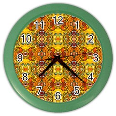 Roof555 Color Wall Clocks by MRTACPANS