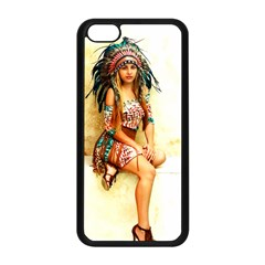 Indian 15 Apple Iphone 5c Seamless Case (black) by indianwarrior