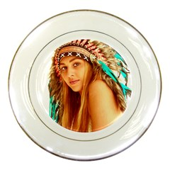 Indian 27 Porcelain Plates by indianwarrior