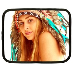 Indian 27 Netbook Case (large) by indianwarrior