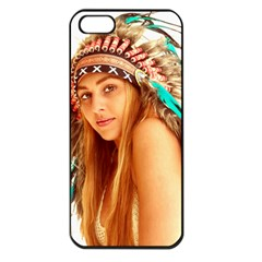 Indian 27 Apple Iphone 5 Seamless Case (black) by indianwarrior