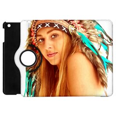 Indian 27 Apple Ipad Mini Flip 360 Case by indianwarrior