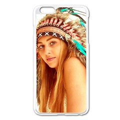 Indian 27 Apple Iphone 6 Plus/6s Plus Enamel White Case by indianwarrior