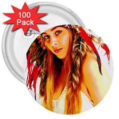 Indian 26 3  Buttons (100 Pack)  by indianwarrior