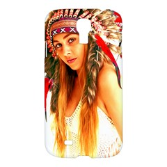 Indian 25 Samsung Galaxy S4 I9500/i9505 Hardshell Case by indianwarrior