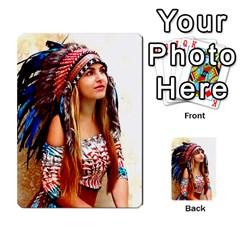 Indian 21 Multi Purpose Cards (rectangle)  by indianwarrior