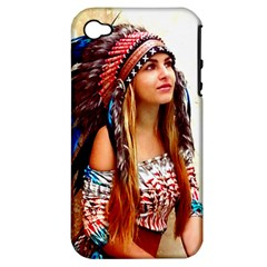 Indian 21 Apple Iphone 4/4s Hardshell Case (pc+silicone) by indianwarrior