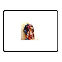 Indian 21 Double Sided Fleece Blanket (small)