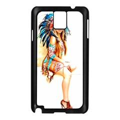 Indian 18 Samsung Galaxy Note 3 N9005 Case (black) by indianwarrior