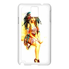 Indian 16 Samsung Galaxy Note 3 N9005 Case (white) by indianwarrior