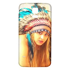 Indian 14 Samsung Galaxy S5 Back Case (white) by indianwarrior