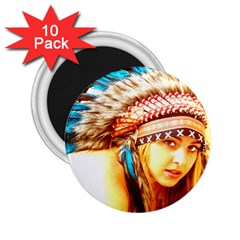 Indian 12 2 25  Magnets (10 Pack)  by indianwarrior