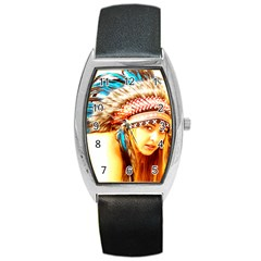 Indian 12 Barrel Style Metal Watch by indianwarrior