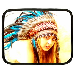Indian 12 Netbook Case (large) by indianwarrior