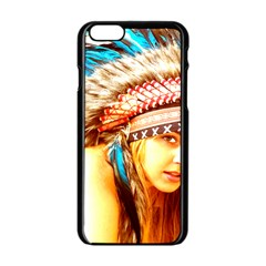 Indian 12 Apple Iphone 6/6s Black Enamel Case by indianwarrior