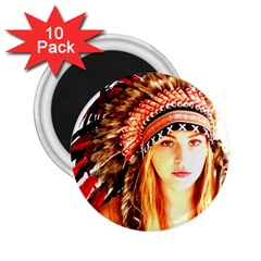 Indian 3 2 25  Magnets (10 Pack)  by indianwarrior