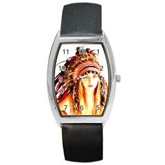 Indian 3 Barrel Style Metal Watch by indianwarrior