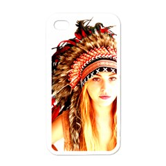 Indian 3 Apple Iphone 4 Case (white) by indianwarrior