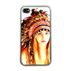 Indian 3 Apple Iphone 4 Case (clear) by indianwarrior