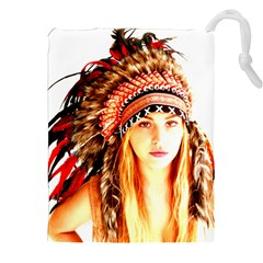 Indian 3 Drawstring Pouches (xxl)