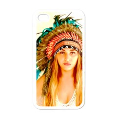Indian 28 Apple Iphone 4 Case (white) by indianwarrior