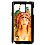 Indian 28 Samsung Galaxy Note 4 Case (Black) Front